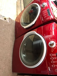 Washer and dryer gas Samsung