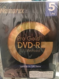 DVD - r 5,  last for 100 years Chula Vista, 91911