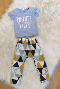 Boys 1-2T outfit in excellent condition