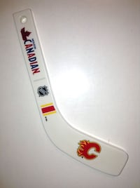 Calgary Flames Molson Canadian Mini Hockey Stick Bottle Opener London