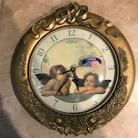 Antique angels wall clock Springfield, 22150