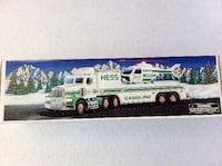 1993 Hess Toy Truck and Helicopter, MIB TOMSRIVER