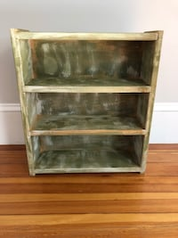Hand Painted Rustic Wooden Shelf Medford, 02155