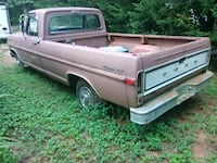 gray and red single cab pickup truck Monroe, 30656