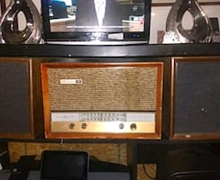 Musaphonic antique Dual speaker Stereo system