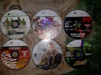 65+Xbox 360 games Berkeley Springs, 25411
