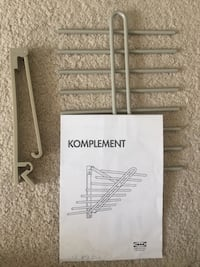 IKEA Komplement tie/belt rack Upper Marlboro, 20774