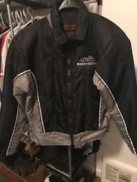 Black and grey easy rider zip-up jacket Edmonton, T5P 1V7