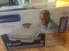 Aerobed 22-inch Queen Bed, Brand new, still in original package.