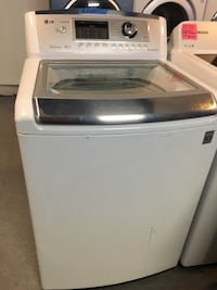 LG top load washer in excellent condition  Baltimore, 21223