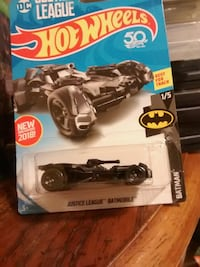 Hot wheels Justice League Batmobile Urbana, 43078