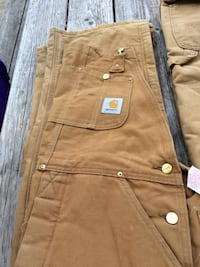 Carhart coveralls 32/30 and 36/32 Dexter, 13634