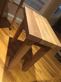 Custom red western cedar table Kingston, 30145