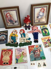Raggedy Ann & Andy Collection Dunn, 28334