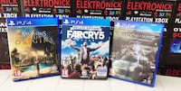 PS4 OYUNLAR FARCRY 5 DELUXE EDITION-SHADOW OF WAR MIDDLE EARTH-ASSASSIN'S CREED ORIGINS