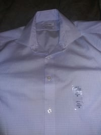 Mens Calvin Klein button up dress shirt.15and a half 32 33mslim fit.
