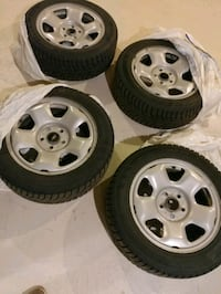 Hankook - Winter Tires- 225/55R17 XL with Honda Rims and TPMS