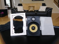 white and black home theater system Clinton
