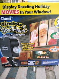 Window projector system