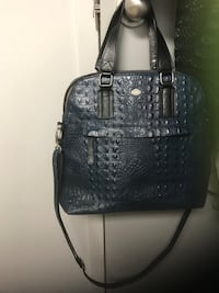 Navy Italian crocodile leather Italy new trend label Edmonton, T5H