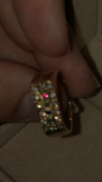 Beautiful estate ring diamonds and multi gems Langley, V3A 0C9