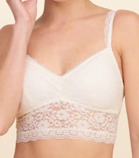Lace longline bralette with removable pads Calgary, T3G 4E1