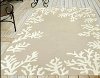 BRAND NEW Hand-Tufted Coral Silver 5ftx7.6ft (150x240cm) Area Rug Waterloo, N2V 1C3