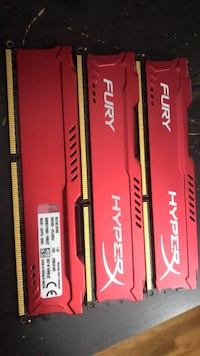 Kingston ddr3 ram 3x8gb like new 多伦多, M1S 1X4
