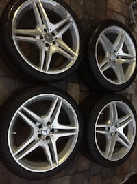 AMG mercedes benz rims staggered set size 20 oem Manassas, 20110