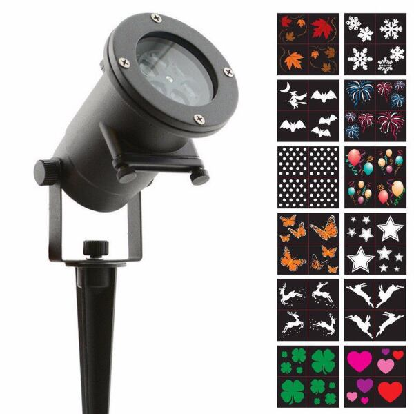 NIGHT STARS LED project with 12 Slides For $40