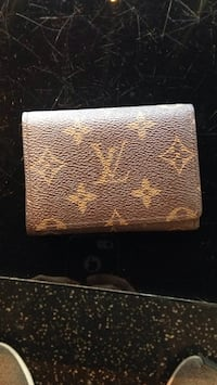 brown leather Louis Vuitton wallet Burnaby, V3J 1N4