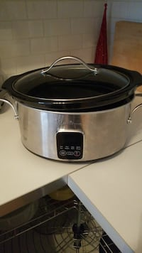 Programmable crock pot Victoria, V8X 2R7