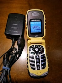 Motorola i560 Rugged Cell phone IDEN Telus Mike network