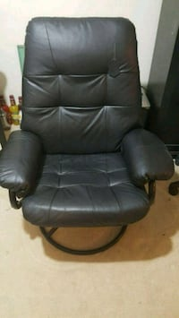 Leather Lounge Chair  Severn, 21144