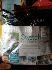 Infantino switch 2 in 1 shopping cart