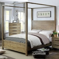 Brand New Queen Canopy Style Bed Frame Los Angeles