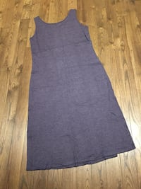 Woman's purple cotton dress size XL  London, N6M 0E5