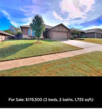 HOUSE For sale 3BR 2BA Midwest City