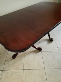 6.5 foot wood Dining Table Davie, 33330