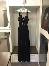 Size 4 Top Shop Prom Dress / Evening Gown - Size 4 (cut outs and slits) Toronto, M4E 2T9