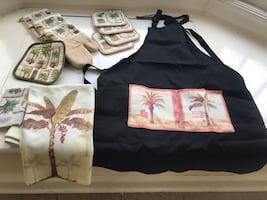 Kitchen set – palm tree themed