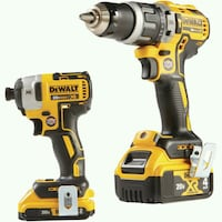 Dewalt cordless hand drill and impact wrench Harwood, 20776