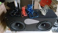 Punch amp with sub and wiring 70$ Brampton, L6Z 0E1