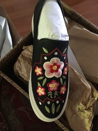 Ariat Suede and Embroidered Shoes Boise, 83702