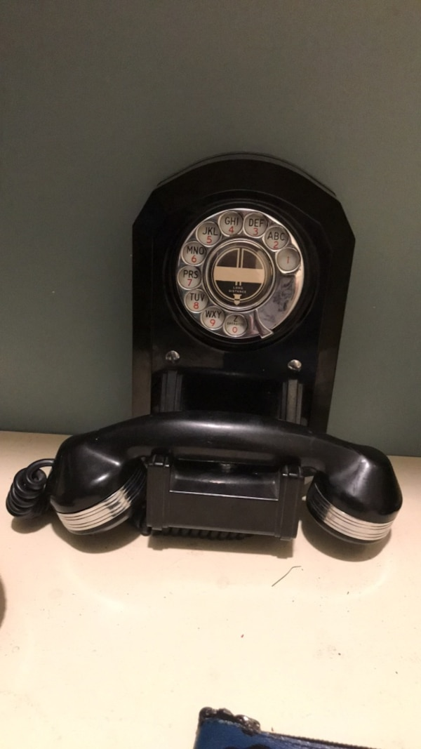 Antique telephone. Still works