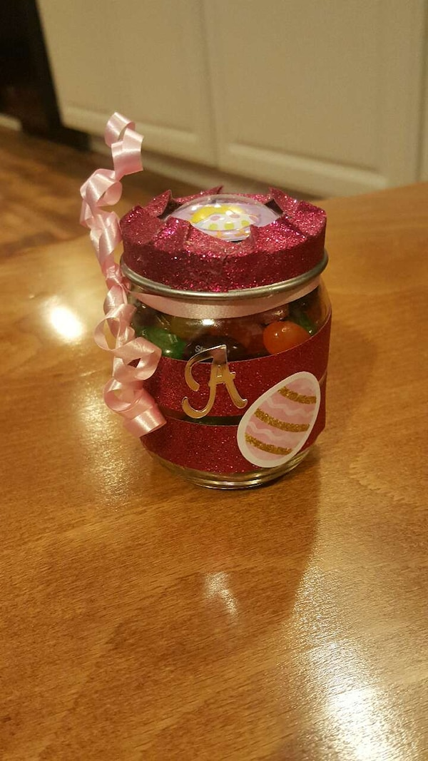 Easter jars  Candy, surprises, custom
