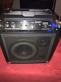 Ion tailgater Bluetooth portable sound system  356 km