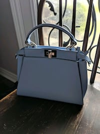 Light Blue Fendi Peekaboo Mini Halton Hills, L7G