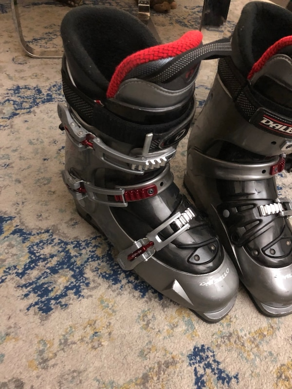 Used Ski Boots >> Ski Boots Dalbello With Marker Carry Bag Used In Great Condition
