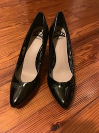 Fergalicious Black Patent Leather Shoes